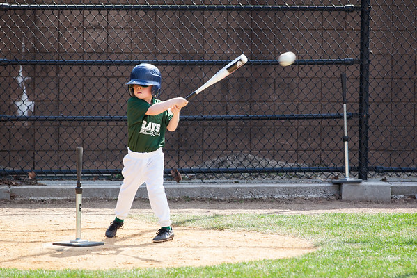 Nate's First ever game at-bat